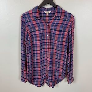 Lucky Brand plaid shirt/size S